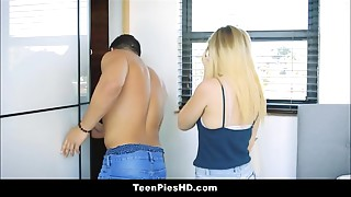 Sexy Juvenile Blond Legal age teenager Creampie