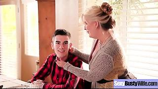 Sexy Sexy Wife (Ariella Ferrera) With Big Boobs Love Intercorse clip-05